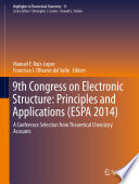 9th Congress on Electronic Structure  Principles and Applications  ESPA 2014