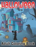 Halloween Adult Coloring Book Book