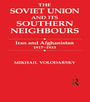 The Soviet Union and Its Southern Neighbours Pdf/ePub eBook