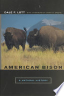 American Bison Book