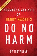 Do No Harm by Henry Marsh | Summary & Analysis