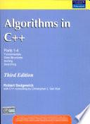 Algorithms in C++, 3/e