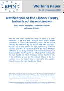 Ratification of the Lisbon Treaty: Problems not only in Ireland