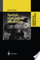 Spatial Interaction Modelling Book PDF