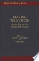 Making Television