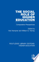 The Social Role Of Higher Education