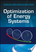 Optimization of Energy Systems Book
