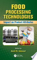 Food Processing Technologies Book PDF