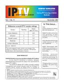IPTV Monthly Newsletter