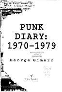 Punk Diary  1970 1979
