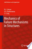 Mechanics Of Failure Mechanisms In Structures Book PDF