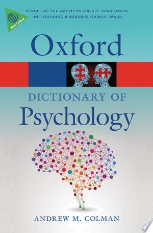 A+Dictionary+of+Psychology