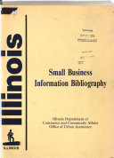 Small Business Information Bibliography