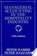 Managerial Accounting in the Hospitality Industry