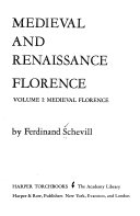 Medieval and Renaissance Florence