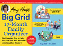 Amy Knapp's Big Grid Family Organizer 2021 Calenda