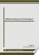 Materials Science and Technology II Book