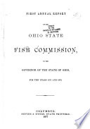 Annual Report of the Ohio State Fish and Game Commission for the Year Ending