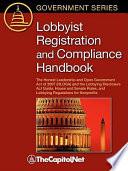 Lobbyist Registration and Compliance Handbook Book