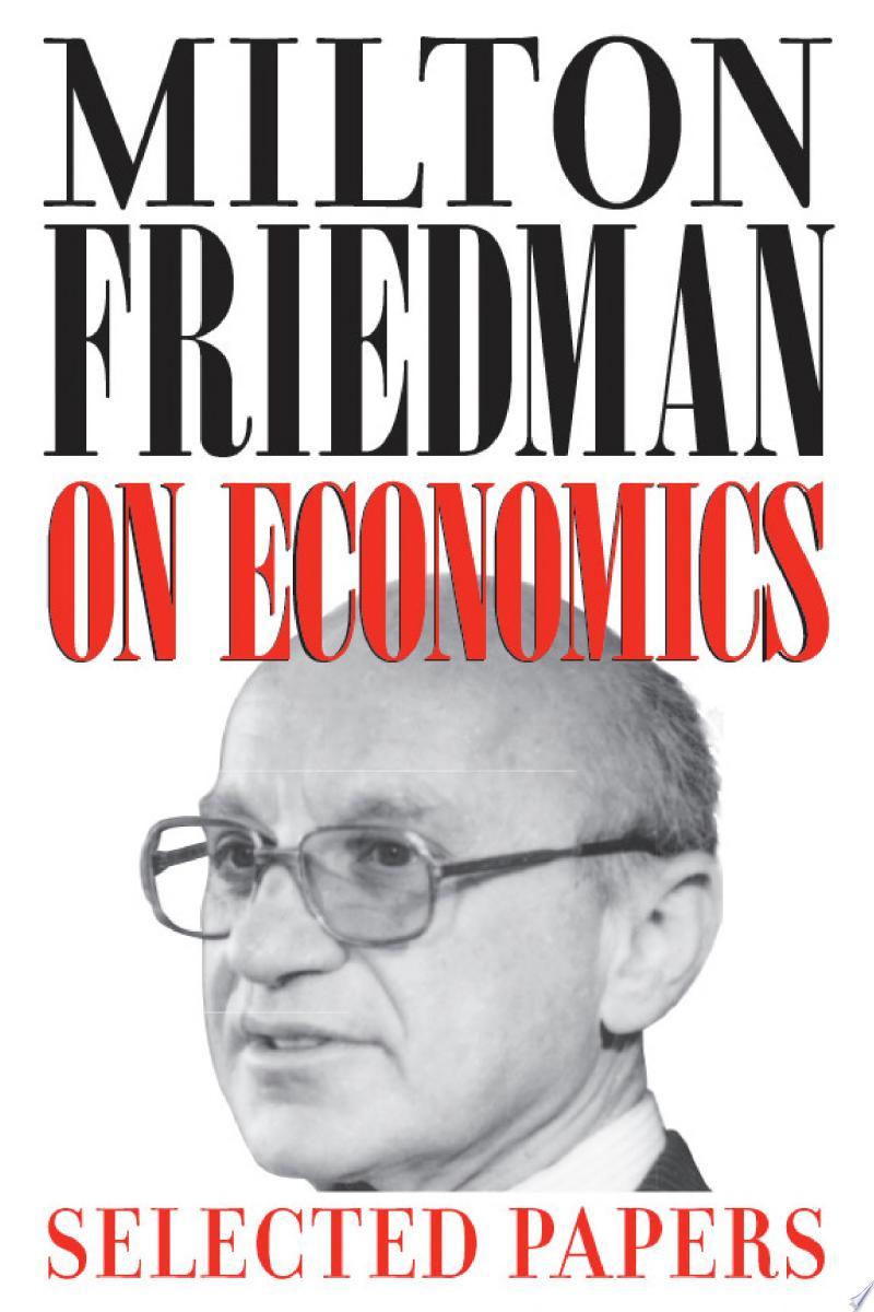 Milton Friedman on Economics banner backdrop