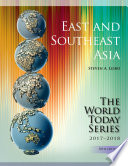 East and Southeast Asia 2017 2018 Book
