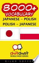 8000  Japanese   Polish Polish   Japanese Vocabulary