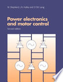 Power Electronics And Motor Control Book PDF