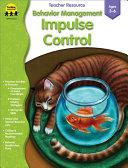 Pdf Behavior Management: Impulse Control, Grades PK - K
