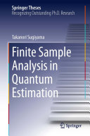 Finite Sample Analysis in Quantum Estimation [Pdf/ePub] eBook