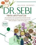 Dr  Sebi Herbs and Food List