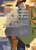 Pdf Dictionnaire de la guerre et de la paix Telecharger