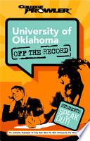 University of Oklahoma College Prowler Off the Record