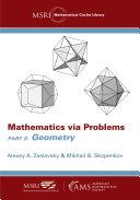 Mathematics via Problems  Part 2  Geometry