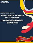 SLANGS DICTIONARY OF UNCONVENTIONAL ENGLISH