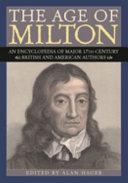 The Age of Milton