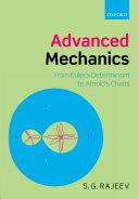 Advanced Mechanics
