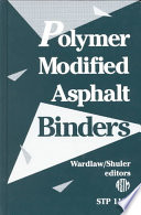 Polymer Modified Asphalt Binders