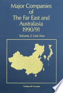Major Companies of The Far East and Australasia 1990/91
