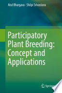 Participatory Plant Breeding  Concept and Applications