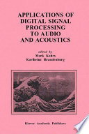 Applications of Digital Signal Processing to Audio and Acoustics