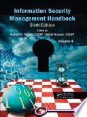 Information Security Management Handbook Sixth Edition Book PDF