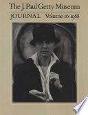 The J. Paul Getty Museum Journal