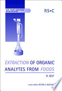 Extraction of Organic Analytes from Foods