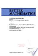 Better Mathematics