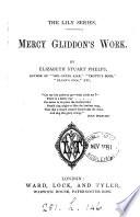 Mercy Gliddon s work
