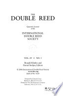 The Double Reed