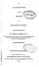 An Introduction to the Practice of Midwifery