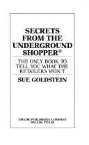 Secrets from the Underground Shopper
