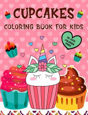 Cupcakes Coloring Book for Kids