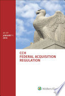 Federal Acquisition Regulation  : As of January 1, 2016